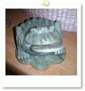 風水蛙☆3本足の蛙さま