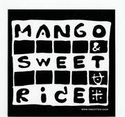 mango + sweetrice