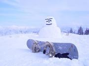 宿にこだわるスノーボード