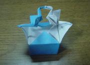 折紙で連鶴