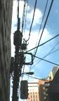 電信柱の地中化をすすめよう