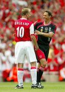Arsenalの10番はベルカンプ!