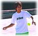 テニスで世界を平和にする♪