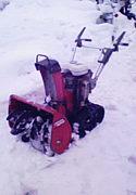 除雪機械に萌え
