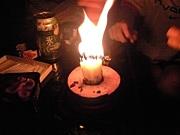 誕生日には仏壇用ローソク使う人
