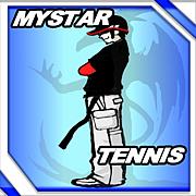 野川で壁打ちテニス自主練!!