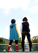 仮面ライダーWコスプレ