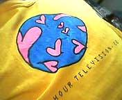 6年前のシャツを着て武道館へ