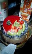 ホールケーキをマイフォークで!