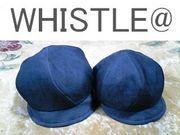 WHISTLE@、帽子大好き