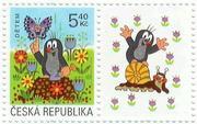 チェコ、スロバキア切手
