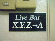 八王子 Live Bar XYZ→A