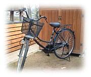 自転車でどこまでも…。