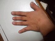人差し指が一番長い