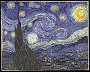ゴッホの星月夜