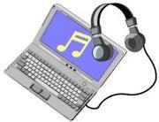 パソコンで音楽聴いている人