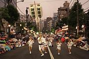 ちからこぶ男踊り組in阿波踊り