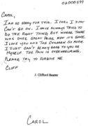 suicide note にみる英語の本質