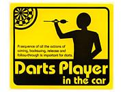 Darts Player in NAGANO