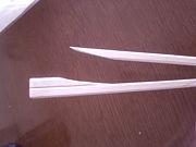 割箸がうまく割れない!!