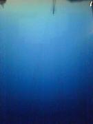 溶けるような青、