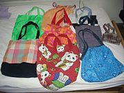 手作りバッグ&袋、小物