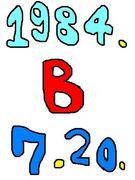 1984年7月20日生まれB型人