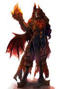 石畳の緋き悪魔