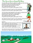 green,green grass of home