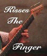 kisses the finger