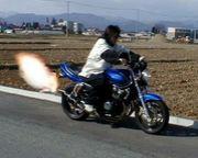 バイクに過給機