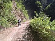 林道ツーリング-オフ車 北海道