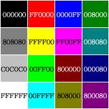 好きです、カラーコード。