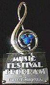 MUSIC FESTIVAL PROGRAM in TDR