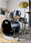 ドラムはやっぱり生でしょう^^
