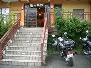 バイク宿泊先駐車
