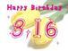 Happy Birthday 3.16