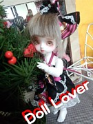 *DollLoverでマイミク*