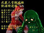 武蔵大学蹴球部・飲酒特選隊