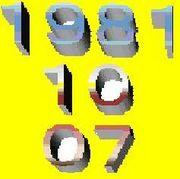 ☆1981年10月07日生誕☆