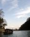 嵐山で屋形船