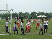 京都の少年サッカー