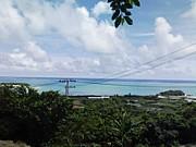 沖縄の海で宝さがし