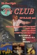 T'sCLUB〜角松DJイベント