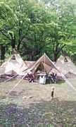 新潟、弥彦で親子キャンプ体験