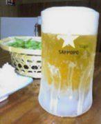 ビールは黒ラベル つまみは枝豆