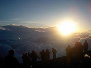 チーム泡富士登山2007