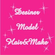 デザイナー+モデル+ヘアメイク