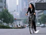都内を自転車で駆け抜ける