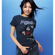 ディズニーTシャツがスキ。